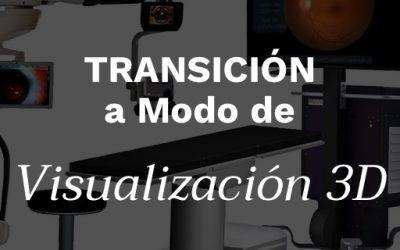 Transición a Modo de Visualización 3D